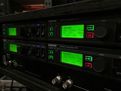 Системы Shure ULX-D и PSM-900 в телевизионных студиях Украины.