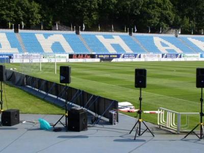 Динамо Киев обновляет звуковое оборудование стадиона