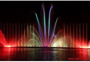 В Виннице открыт новый сезон работы фонтана Рошен